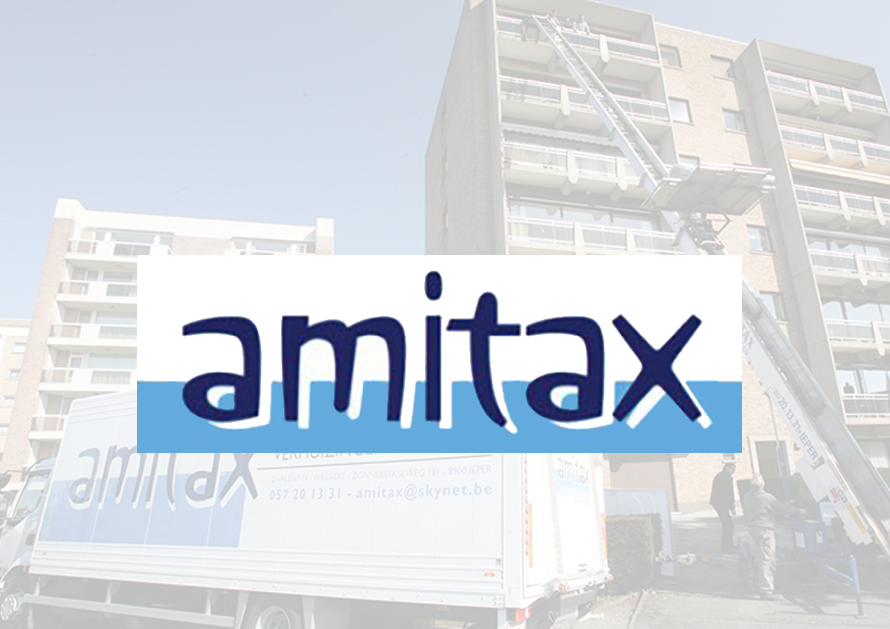 Amitax - webdesign creatiefonline Kortrijk