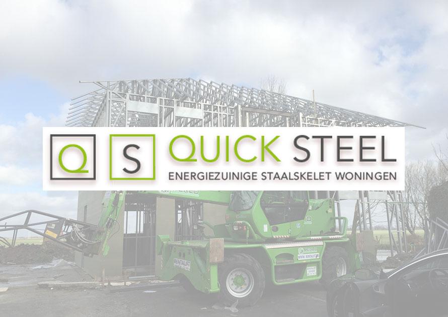 quicksteel - webdesign creatiefonline Kortrijk