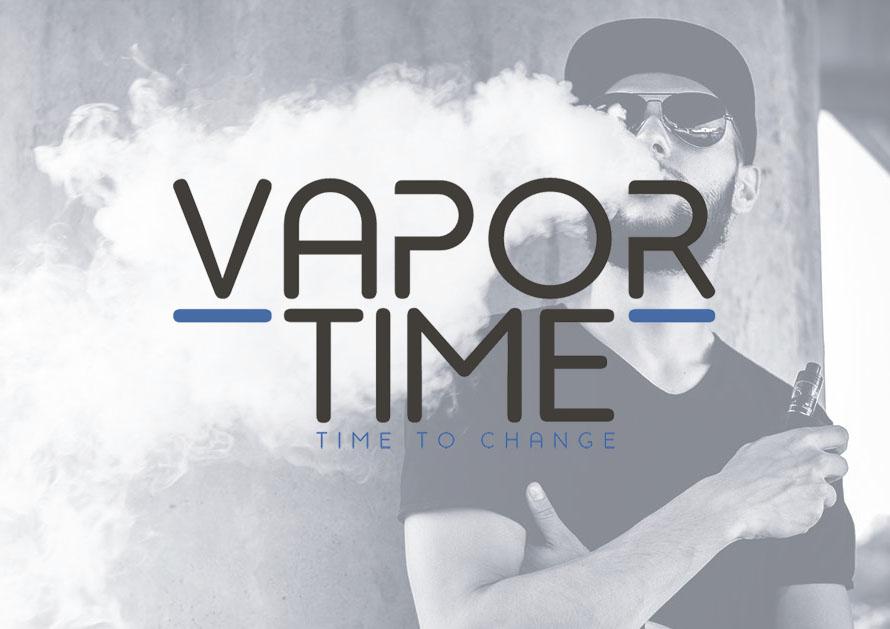 Vapor Time- webdesign creatiefonline Kortrijk