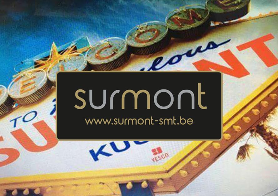 Surmont - webdesign creatiefonline Kortrijk