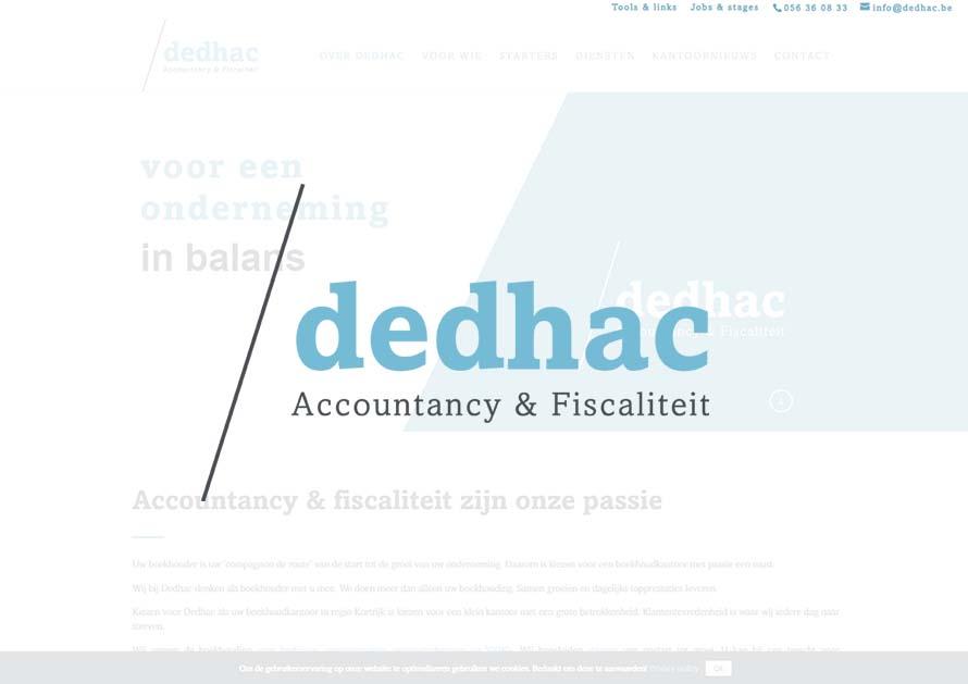 Dedhac - webdesign creatiefonline Kortrijk